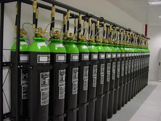 Argon Gazlı Yangın Söndürme Sistemi