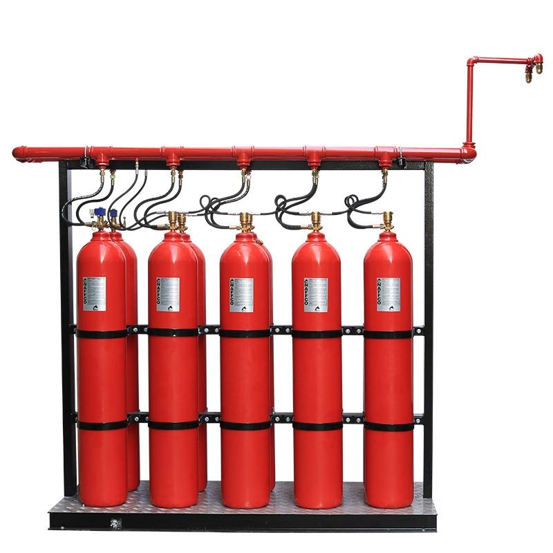 Karbondioksit Gazlı Yangın Söndürme Sistemi