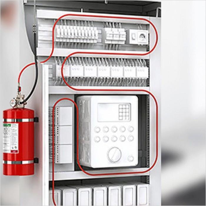 İndirekt Pano İçi Yangın Söndürme Sistemi